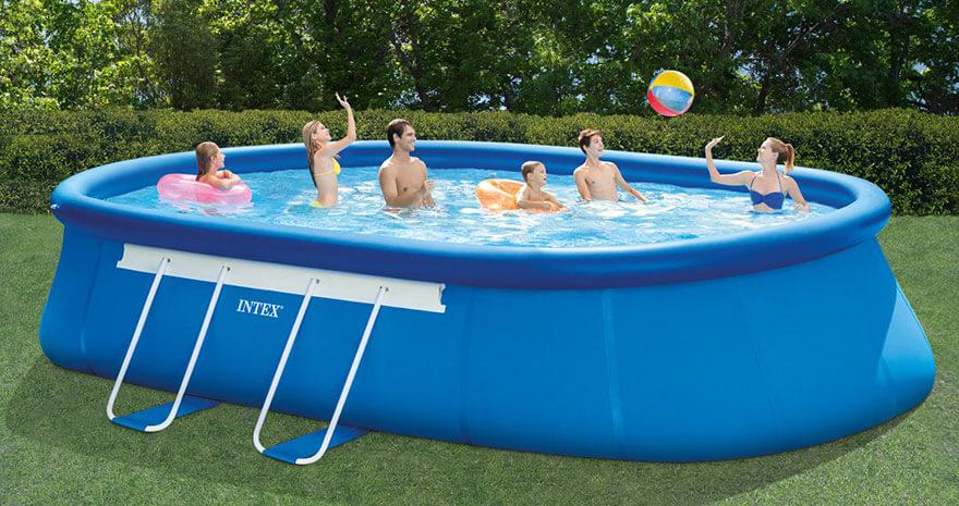 Samonosný bazén - výrobca Intex
