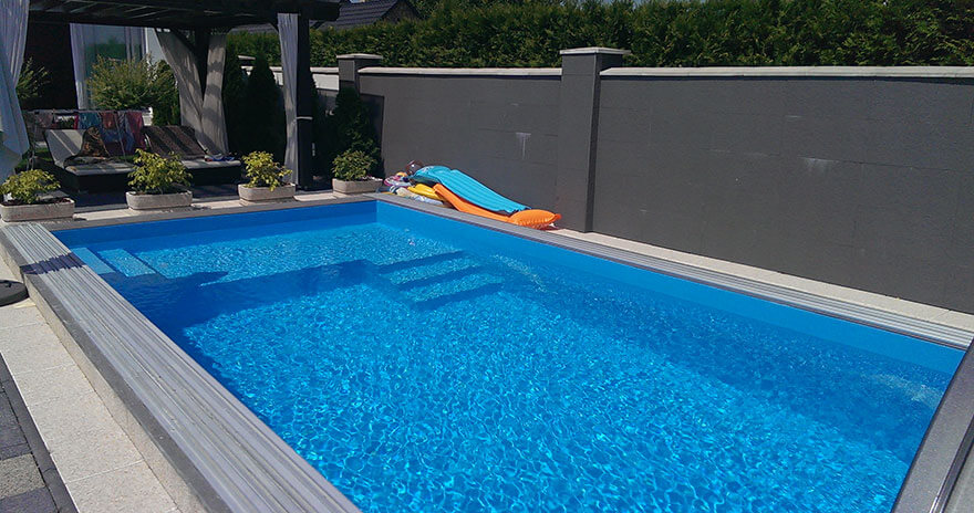 Typ bazénu - skimmer